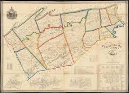 Map Of Pennsylvania Map Of Cumberland County Pennsylvania Digital Commonwealth