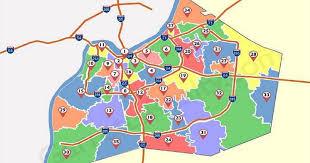 zip code map louisville kentucky zip code map
