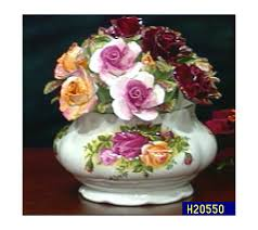 roses china royal albert country roses china floral cluster qvc