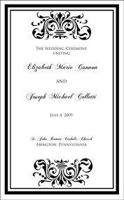 wedding ceremony program covers wedding design images gallery category page 93 designtos