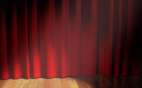 home theater curtains red curtain on stage wallpaper