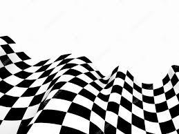 Checkered Racing Flags Drapeaux De Course Fond Checkered Drapeau Formule Un U2014 Stockfoto