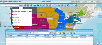 Map Radius Tool The Data Window Tool Bar Review Filter And Control Business Data