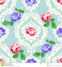 Shabby Chic Rose by Shabby Chic Rose Damask Pattern Stock Vector Image 61145096