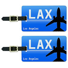 amazon black friday los angeles los angeles ca lax airport code luggage suitcase carryon id tags