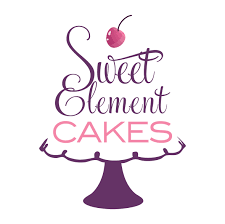 wedding cake logo sweetelement cakes cookies chocolates confections