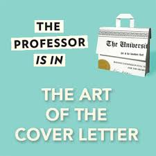 the art of the academic cover letter