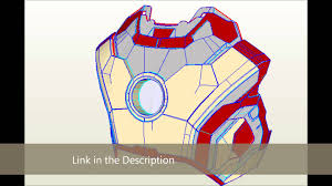 iron man mark xlii 42 chest download pepakura youtube
