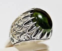men ring sterling silver 925 men ring design with naturel