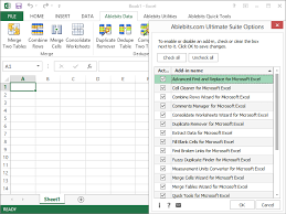 collection of 40 most popular tools for excel ablebits ultimate