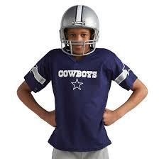 Dallas Cowboys Halloween Costumes Franklin Sports Dallas Cowboys Deluxe Football Helmet Uniform