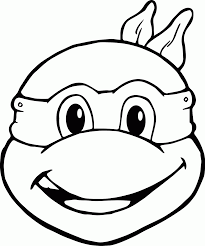 free ninja turtle coloring pages coloring home