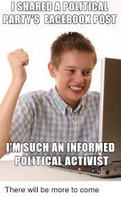 Facebook Post Meme - 17 jokey politics on facebook meme pictures images greetyhunt