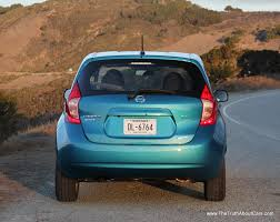 nissan versa front bumper review 2014 nissan versa note with video the truth about cars