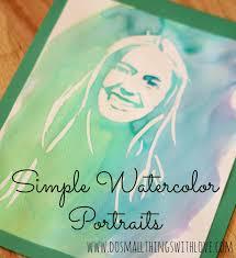 easy watercolor portrait easy watercolor watercolor portraits