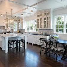 u shaped kitchen black rattan counter stools design ideas
