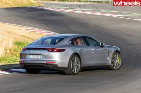 porsche panamera turbo 2017 back 2017 porsche panamera turbo s e hybrid porsche u0027s new power age