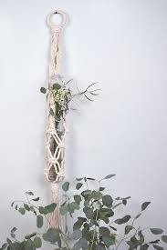 wall plant holders 67 best macrame plant hanger images on pinterest macrame plant