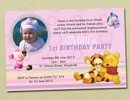 winnie the pooh birthday invitations u2013 frenchkitten net