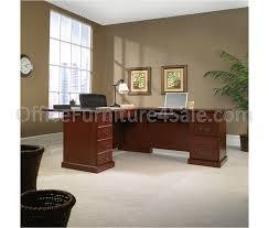 L Shape Desk Sauder Heritage Hill Outlet Executive L Shape Desk 29 3 4 H X 70