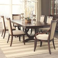 Arm Chairs Dining Room Coaster Alyssa Dining Table And 4 Side Chair And 2 Arm Chair Set