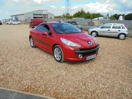 peugeot used car dealers used cars peugeot 207 wisbech