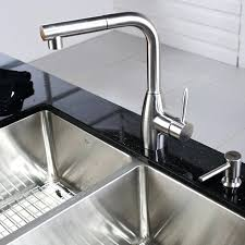 stainless steel pull kitchen faucet stunning contemporary kitchen faucets features mydts520
