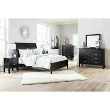 Cherry Sleigh Bed Bedroom Queen Sleigh Bed Sleigh Bed Queen Ashley Furniture