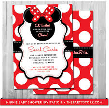 minnie mouse baby shower invitations minnie mouse baby shower invitation printable baby shower