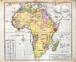 Africa Labeled Map by Ottoman Map Of Africa 1600x1310 Mapporn