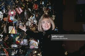 first lady at christmas pictures getty images