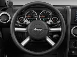 white jeep sahara 2 door image 2009 jeep wrangler 4wd 2 door sahara steering wheel size