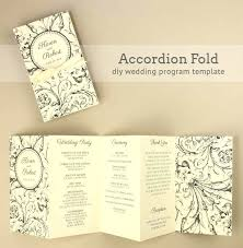 how to make a wedding program awesome program to make wedding invitations and how to make a