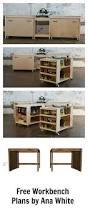 49 Free Diy Workbench Plans U0026 Ideas To Kickstart Your Woodworking by Best 25 Rolling Workbench Ideas On Pinterest Woodworking Diy