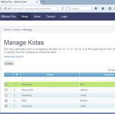 membuat web yii multiple checkbox cgridview yii pt proweb indonesia