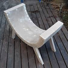diy curved bench home dzine home diy how to make a curved chair