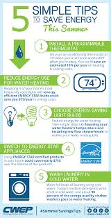 energy saving tips for summer energy saving tips