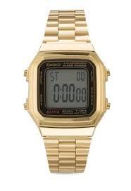 Jam Tangan Casio Gold pria jam tangan jam tangan kasual digital casio s gold
