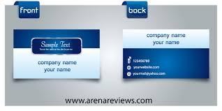 130 best free psd business card templates techclient