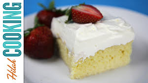 how to make tres leches cake hilah cooking youtube