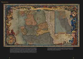 The Witcher 3 World Map by Witcher 2 World Map Art Video Game Pinterest