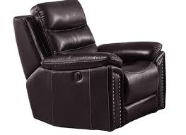 Reclining Armchair Leather 1 46900 Rycote Leather Reclining Chair By Michael Amini D2d