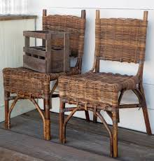 Woven Bistro Chairs Rattan Bistro Chair