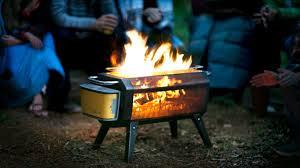 Wood Burning Firepit Biolite Firepit See Not Smoke By Biolite Kickstarter