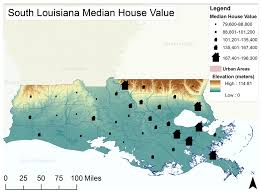 Map Of South Louisiana by Water Free Full Text Influences On Adaptive Planning To Reduce