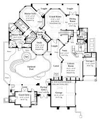 mediterranean style house plan 4 beds 3 5 baths 3792 sq ft plan