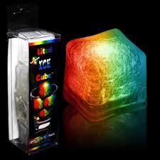 light up cubes rainbow led cubes unit of 4