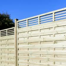grange elite lille fence panel 6ft garden street