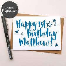 happy birthday u2013 personalised handmade birthday card dig the earth