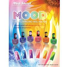 amazon com 6 full mia secret mood color changing nail polish